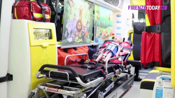 Emergenza: arriva un'ambulanza interamente dedicata ai bambini / VIDEO