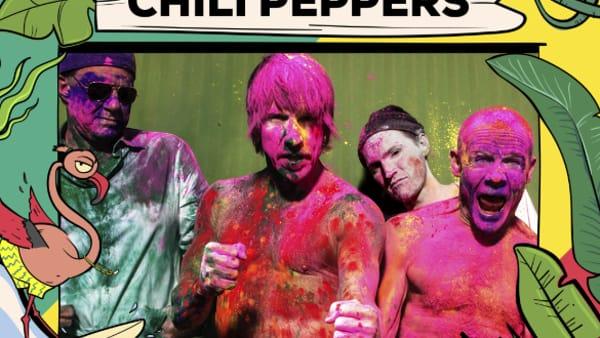 Red Hot Chili Peppers al Firenze Rocks 2021