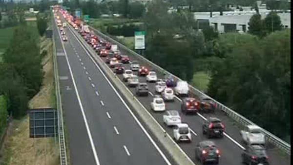 Autostrada A11: traffico sulla Firenze Mare