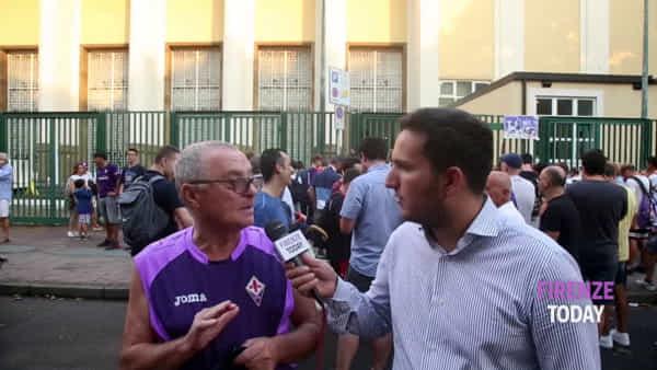 Il saluto del Franchi a Ribéry: quasi 15.000 tifosi ad accogliere il francese / VIDEO