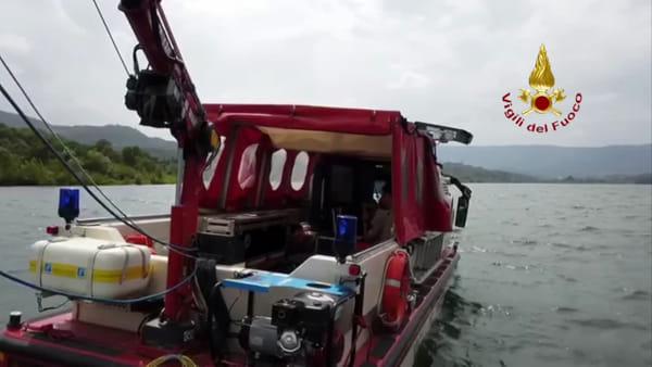 Disperso a Bilancino: sonar per scandagliare i fondalidel lago / VIDEO
