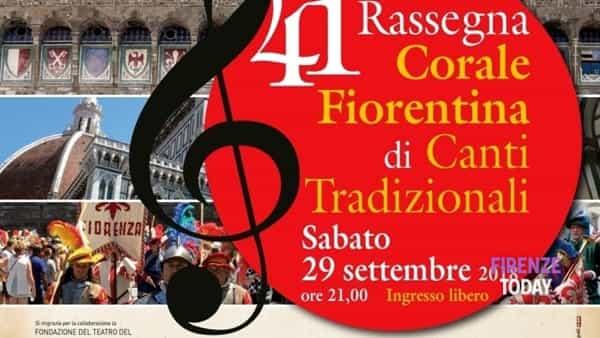 41^ rassegna corale fiorentina di canti tradizionali