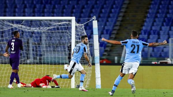 Video \ Serie A, Lazio-Fiorentina 2-1: gli highlights della partita