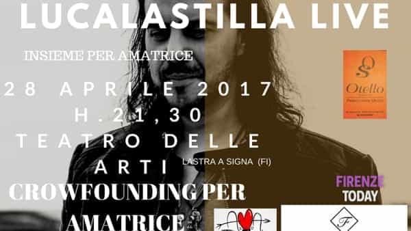 Insieme per Amatrice, Luca Lastilla in concerto al Teatro delle Arti