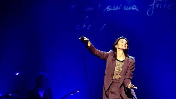 Elisa in concerto al Mandela
