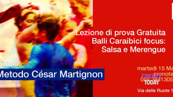Balli caraibici con César Martignon - lezione di prova