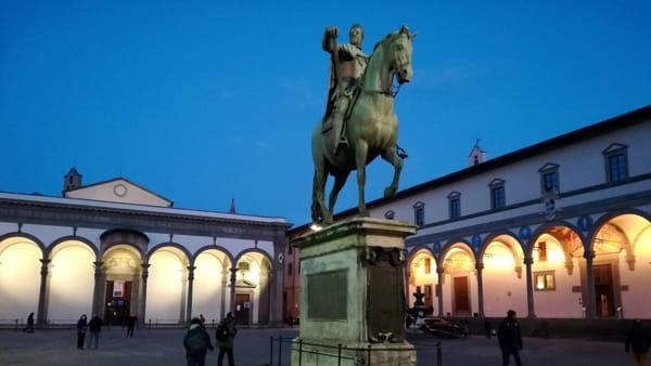 Capodanno in piazza della Santissima Annunziata con Militello e Baglioni