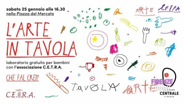 L'arte in tavola: laboratorio gratuito per bambini