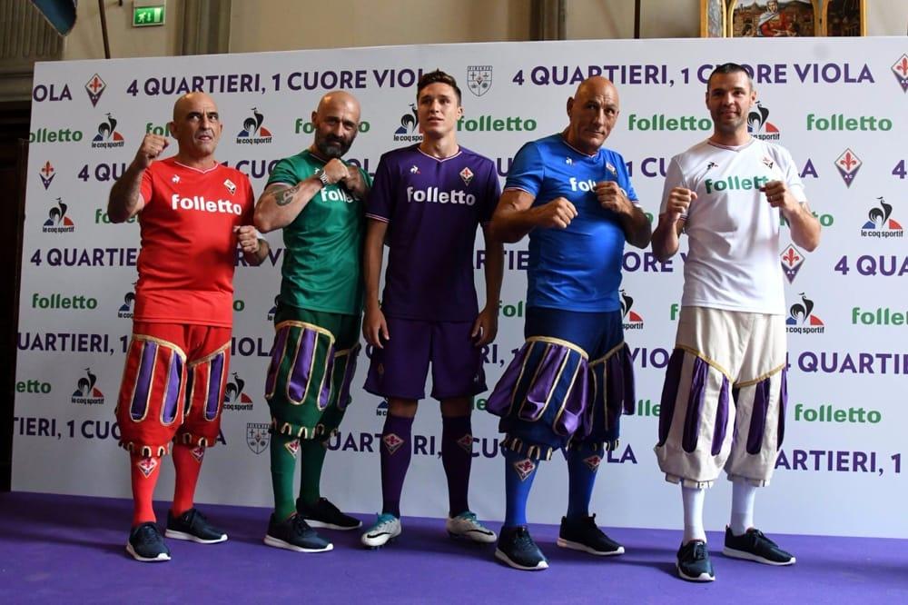 Fiorentina nuove maglie 2017-2018: foto video informazioni