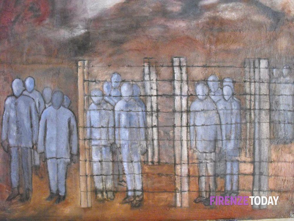Testimonianza di Auschwitz nella pittura di Buba Weisz Sajovits