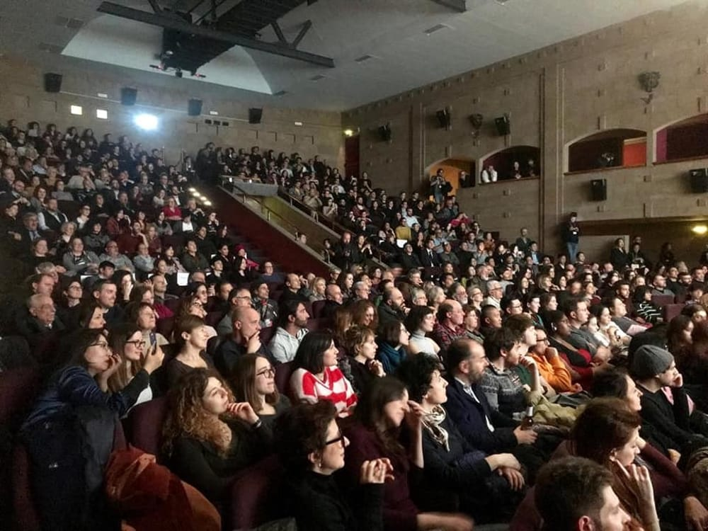 Un'immagine del festival al cinema La Compagnia