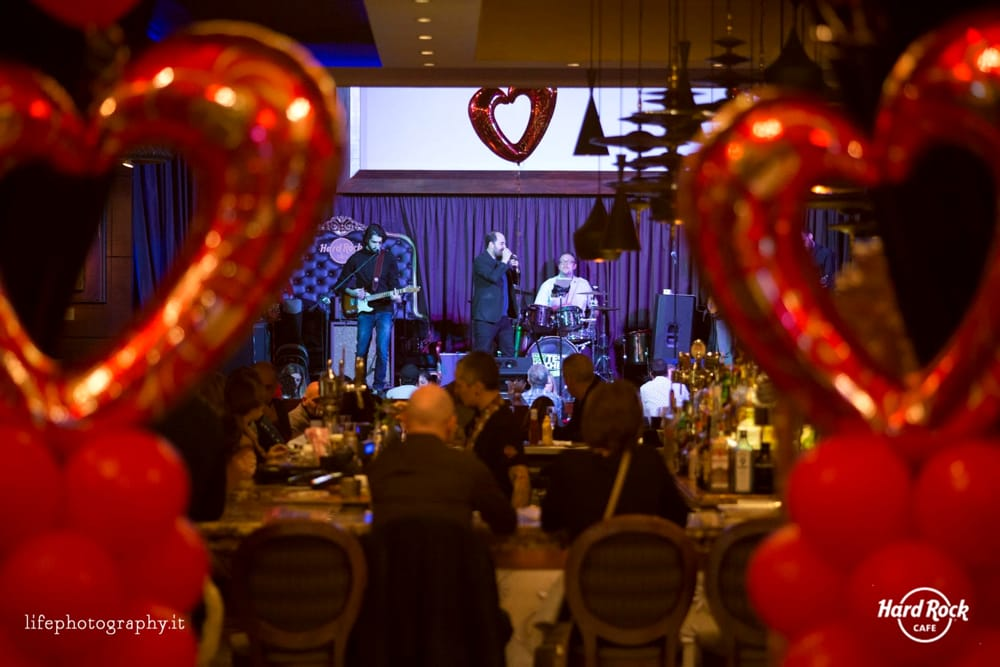 Foto dalla passata edizione del San Valentino all'Hard Rock